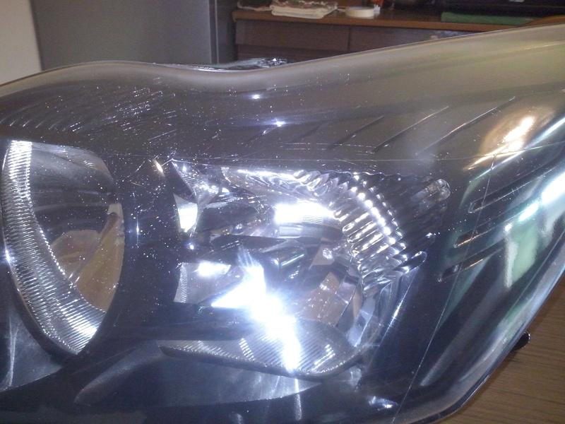 verniciatura fanale ford focus Cam00716