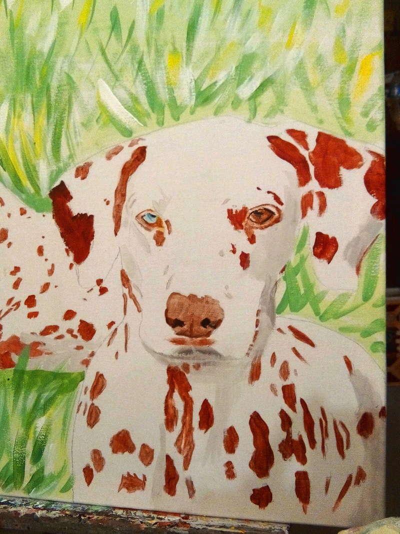 Je serais heureuse de faire le portrait de votre chien Img_2019