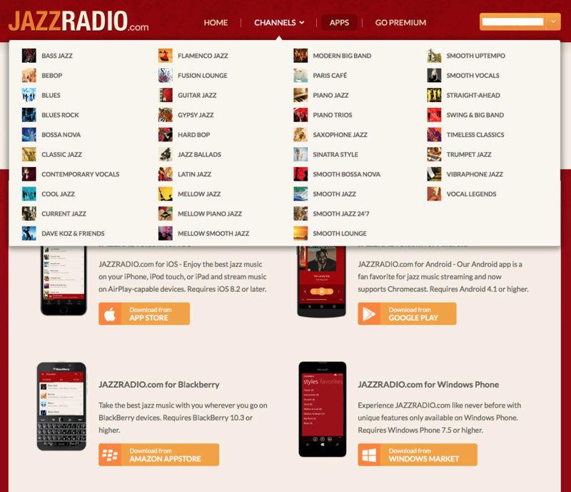 7 dias de JazzRadio.com Premium gratis Captur11