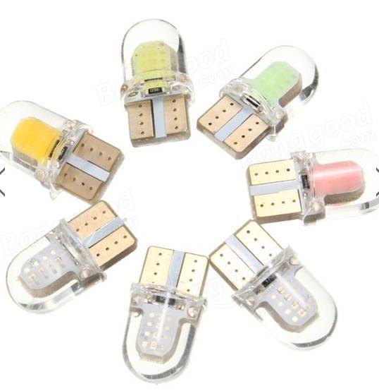 Ampoules veilleuses à Leds T10_le10