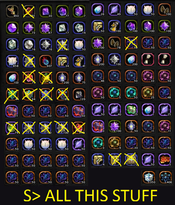 S> Bunch of General Materials Sellin10