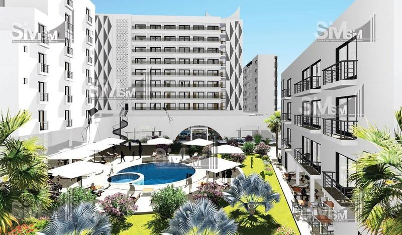 Travaux à l'hôtel de Sidi Mansour  E12