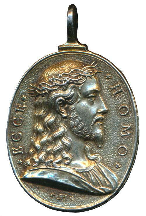 Medalla de Jesucristo / Puerta Santa -1675- Giovanni Hamerani (R.M. SXVII-O435) Giubil12