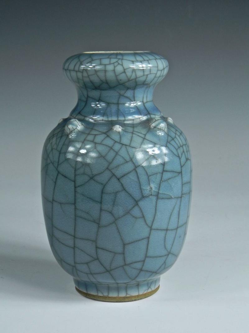 Help Identify a Blue Crackle Glaze Porcelain Vase Asianv11