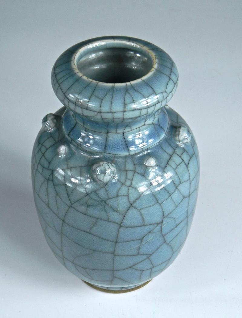 Help Identify a Blue Crackle Glaze Porcelain Vase Asianv12
