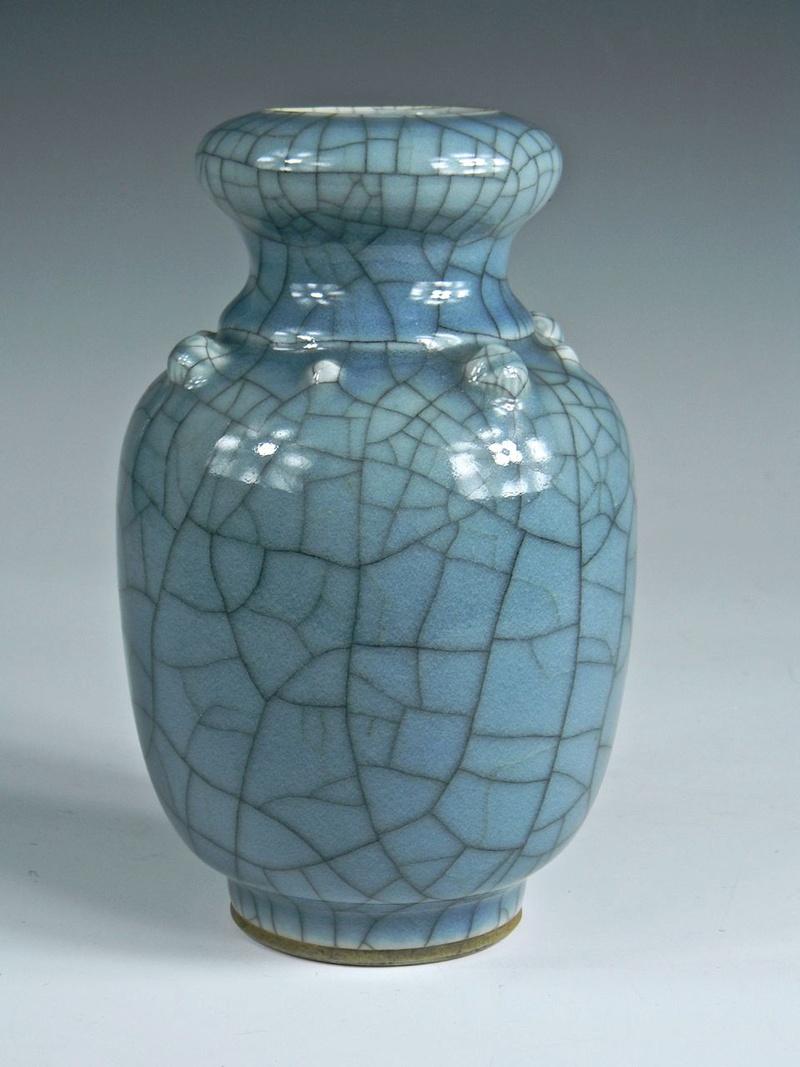 Help Identify a Blue Crackle Glaze Porcelain Vase Asianv13