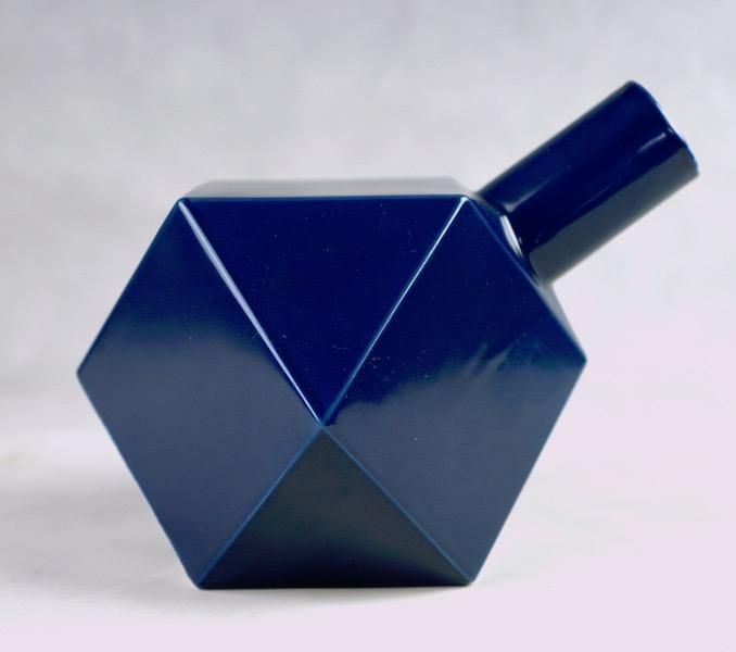 Polygon Ceramic Vase or Bottle - No Mark Cubist15