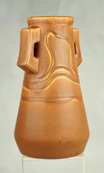 POLLOCK Pottery Handled Vase - Arts & Crafts? Polloc19