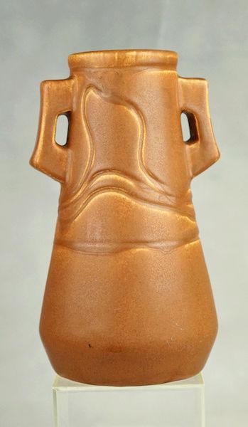 POLLOCK Pottery Handled Vase - Arts & Crafts? Polloc20