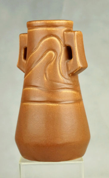 POLLOCK Pottery Handled Vase - Arts & Crafts? Polloc24