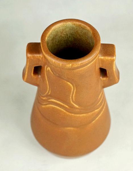 POLLOCK Pottery Handled Vase - Arts & Crafts? Polloc25