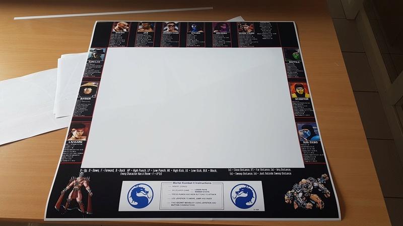 [For Sale]Moves list bezel Mortal Kombat 2 (MK2) Img-2010