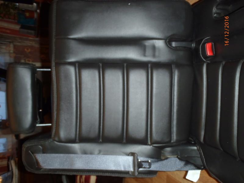 Supplémentaire nouveau fauteuil à la 3e rangée pour Hummer H2. Pc162314