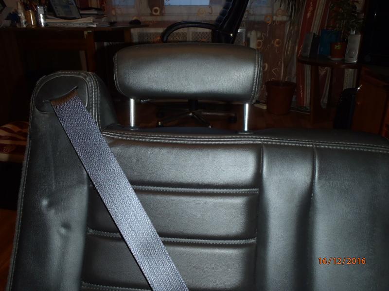 Supplémentaire nouveau fauteuil à la 3e rangée pour Hummer H2. Pc162318