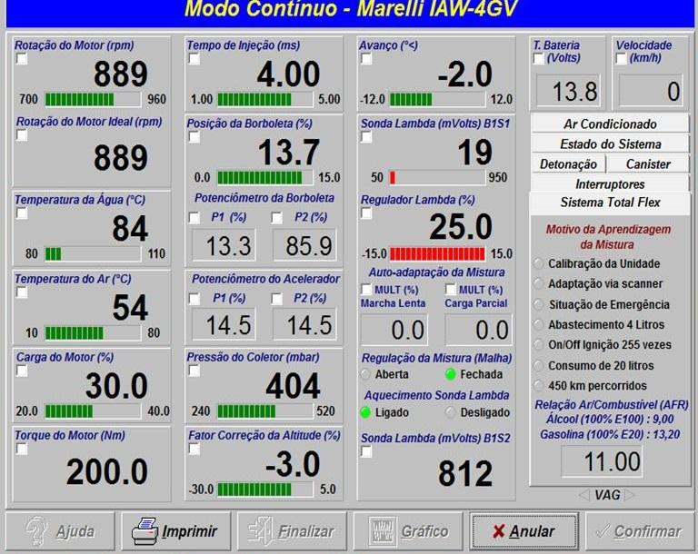 GOL GV 1.0 IAW 4GV SEM DESEMPENHO. Slide110
