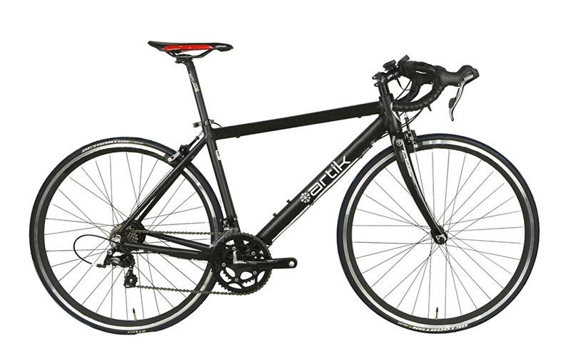 Bicicleta eléctrica Carretera Artik RD1. Dos unidades, en blanco y en negro 20160610