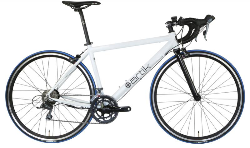 Bicicleta eléctrica Carretera Artik RD1. Dos unidades, en blanco y en negro Artik_11