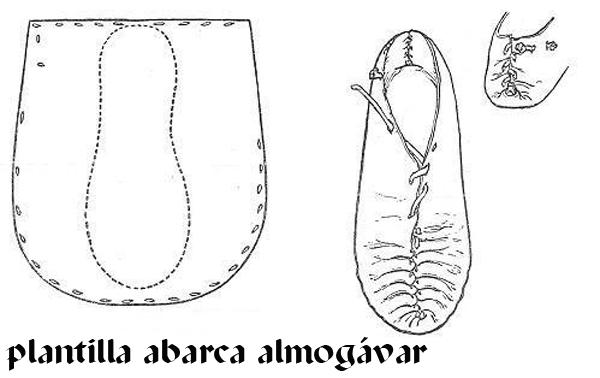 PLANTILLA ABARCA ALMOGÁVAR Abarca10