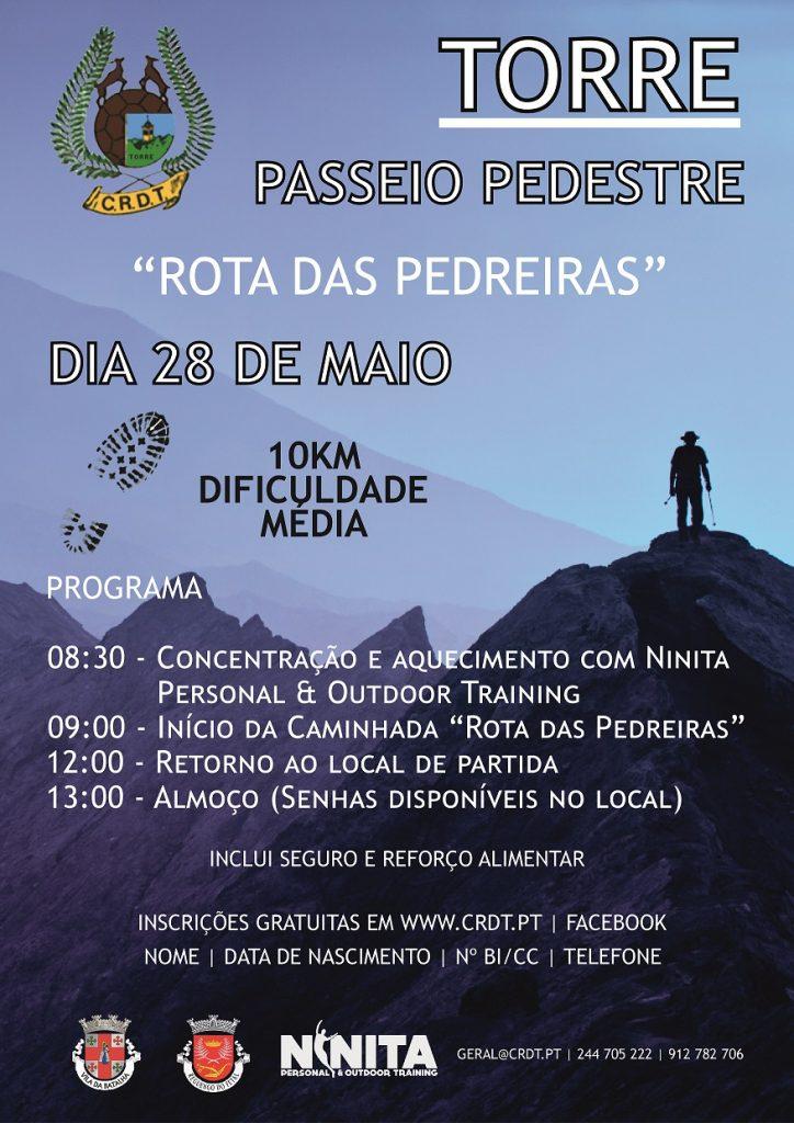 """2017/05/28 - Passeio Pedestre """"Rota das Pedreiras"""" Intern10"""