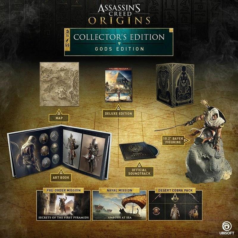 Nuevo Assassins Creed Oringins, trailer, gameplay y edición coleccionista 19059410