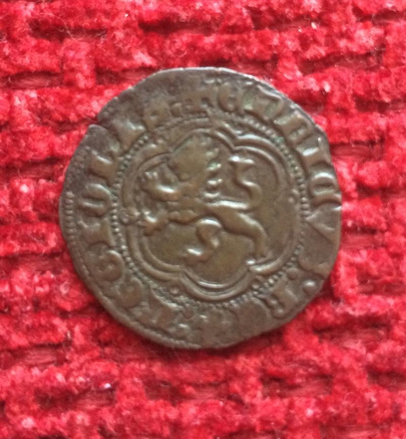 Blanca de Enrique III de Castilla 1390-1406 Sevilla. Image47