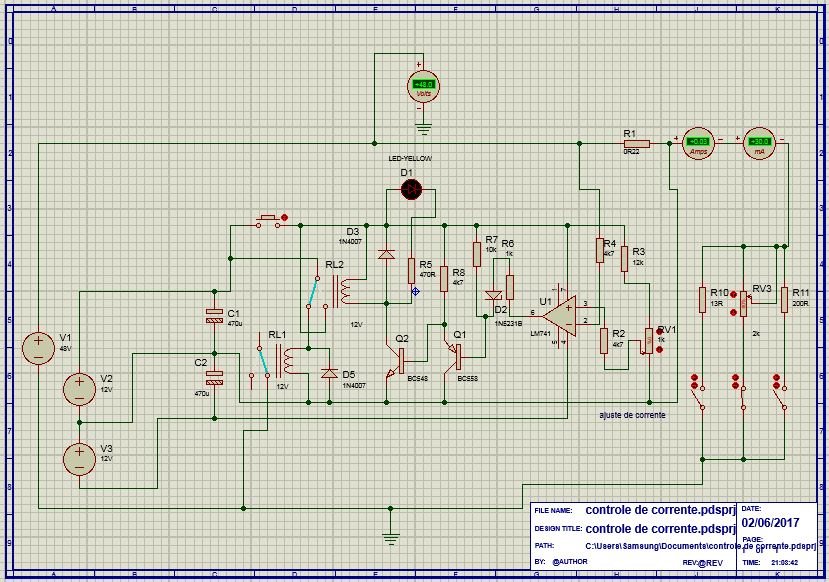 Fonte ajustavel estabilizada de 0-60v 5a Contro10