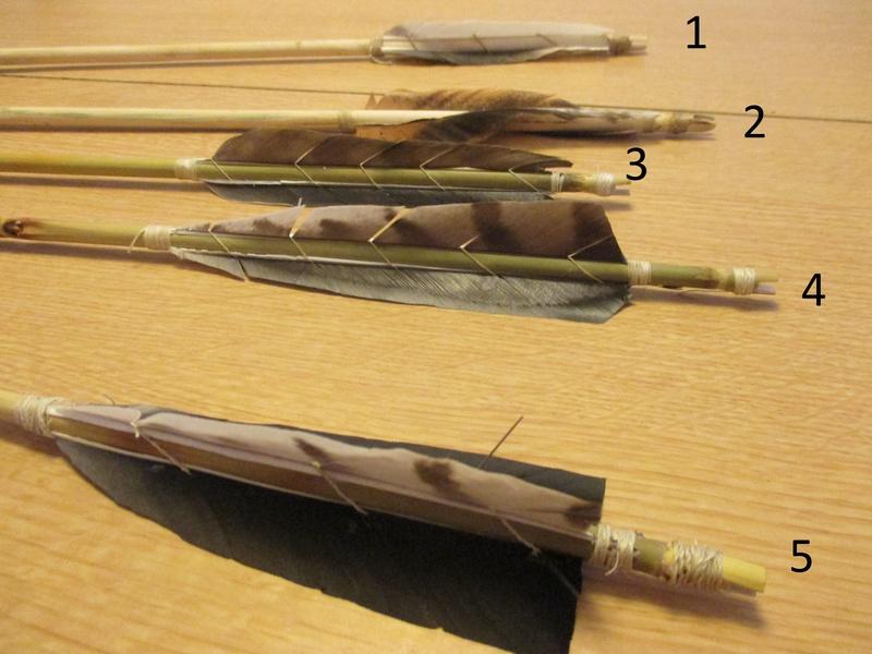 Unas flechas para las Tiradas de Arco Prehistórico Img_2422
