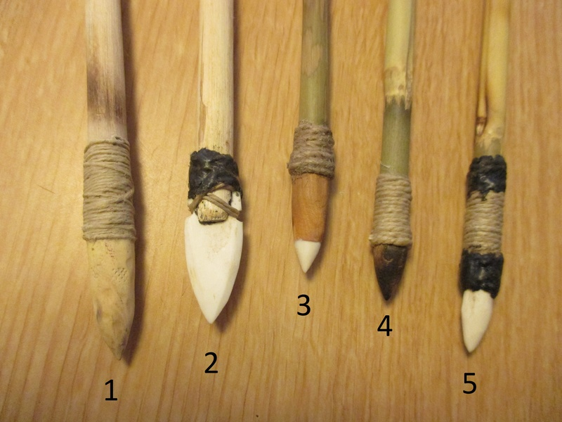 Unas flechas para las Tiradas de Arco Prehistórico Img_2423