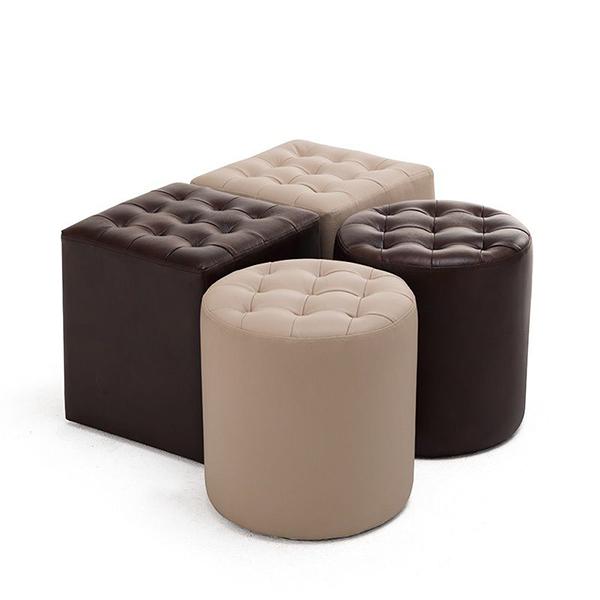 Ghế đôn dễ thương cho bộ ghế sofa thêm đẹp 411