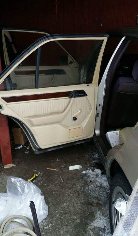"LarryL: Mercedes-Benz w124 ""Bagged"" Receiv11"