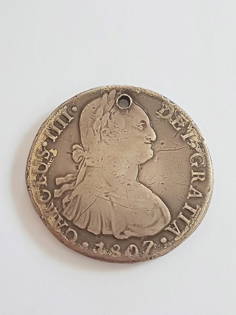 8 reales 1807. Carlos IIII. Lima Img_2010