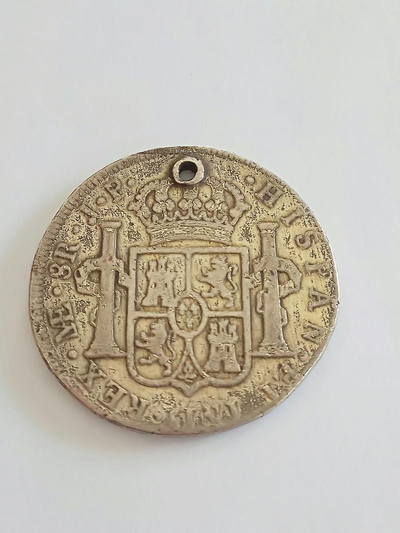 8 reales 1807. Carlos IIII. Lima Img_2011