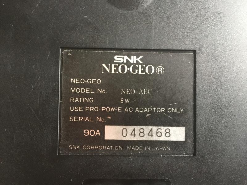 Problème sur neogeo AES Img_6719