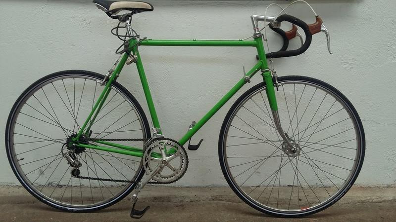Mon Vélo vert  ! 20170510