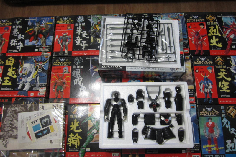 Original Samurai Troopers 100% collection 1988 / (Known as 5 Samurai here) 00810