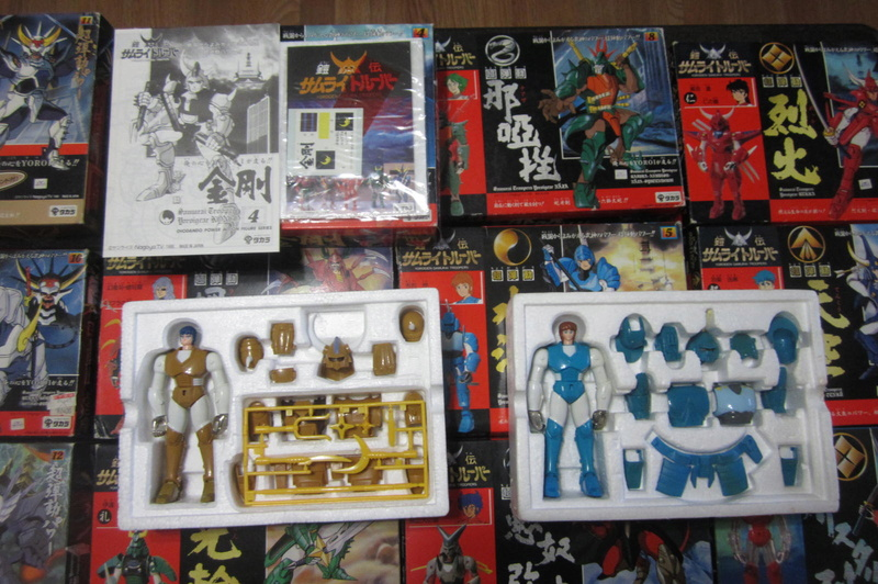 Original Samurai Troopers 100% collection 1988 / (Known as 5 Samurai here) 01110