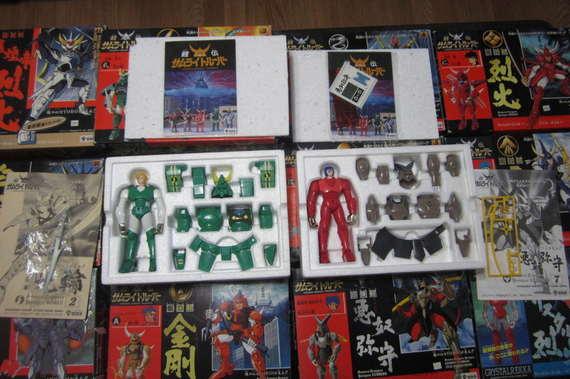 Original Samurai Troopers 100% collection 1988 / (Known as 5 Samurai here) 01210