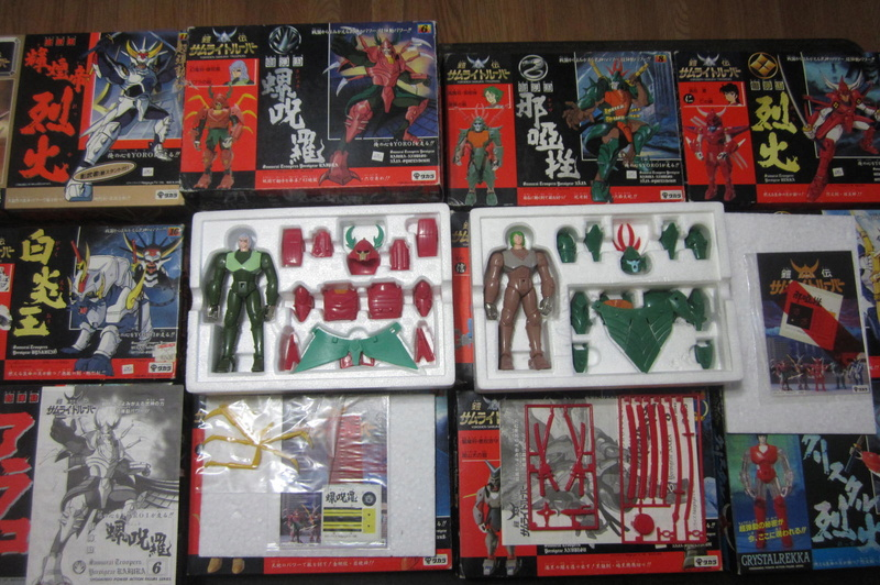 Original Samurai Troopers 100% collection 1988 / (Known as 5 Samurai here) 01510