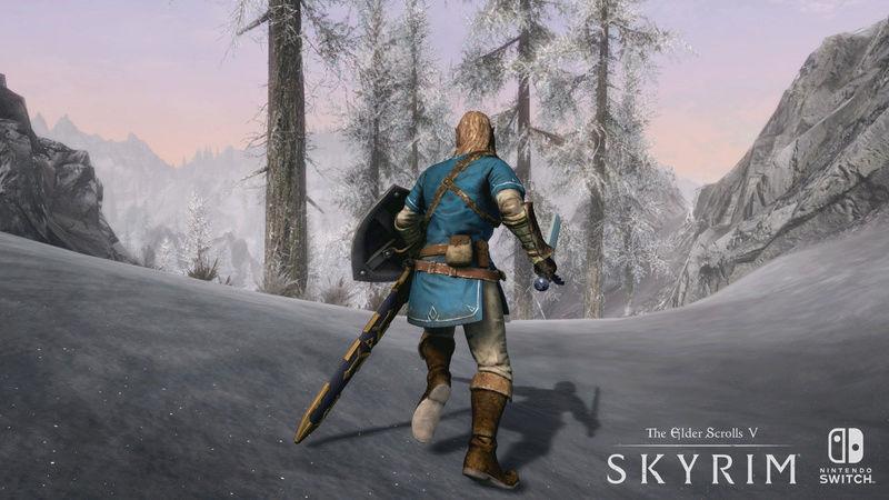 Skyrim versión Switch  Skyrim10