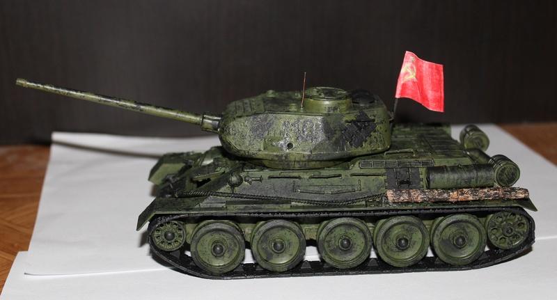Средний танк Т34-85 Img_2323