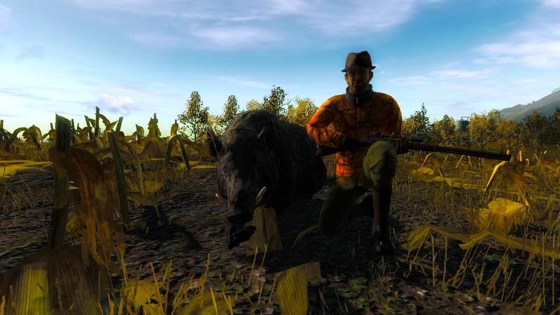"""2 jolie bête  Le premier porc de 1145.665 Le second sanglier fait en battue de 1020.549 """"Team the black wolf""""  ;) 2017-013"""