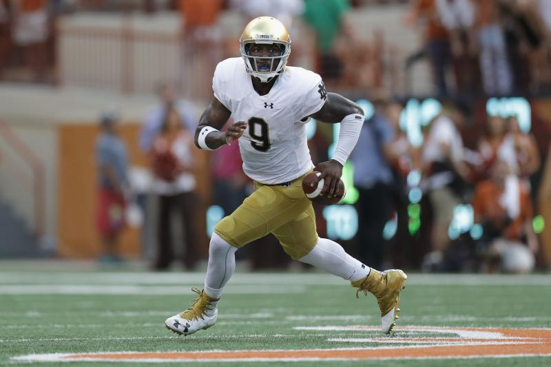Malik Zaire Reportedly 'Leaning Toward' Florida Transfer, Waiting on Rule Change Hi-res10