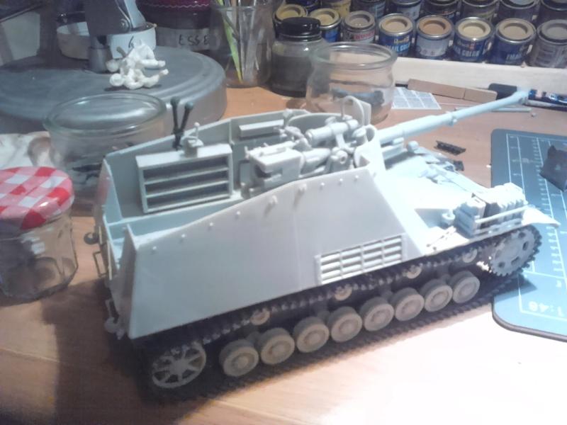 "sdkfz 164,le rhinocéros de l' EST [dragon]1/35 ""FIN"" 112"