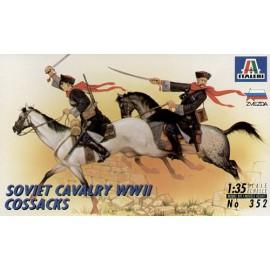 "la charge de la brigade légère,-[italeri, zvezda]cosaques contre wehrmacht 1/35 ""FIN"" 212"