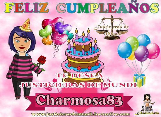 FELIZ CUMPLE ADMI CHARMOSA83 Charmo11