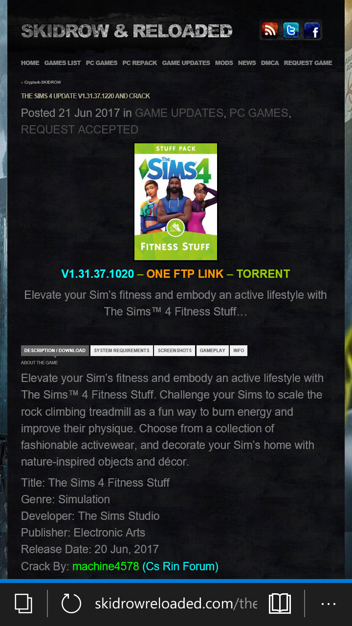 The Sims 4 Fitness Stuff Pack. Wp_ss_10
