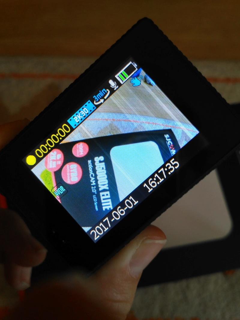 SJCAM SJ5000X ELITE - biele vertikálne pásy na obrazovke Img_2010