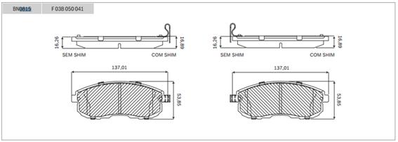 Sobre as pastilhas de freio Nissan e as paralelas. - Página 3 Dimens10