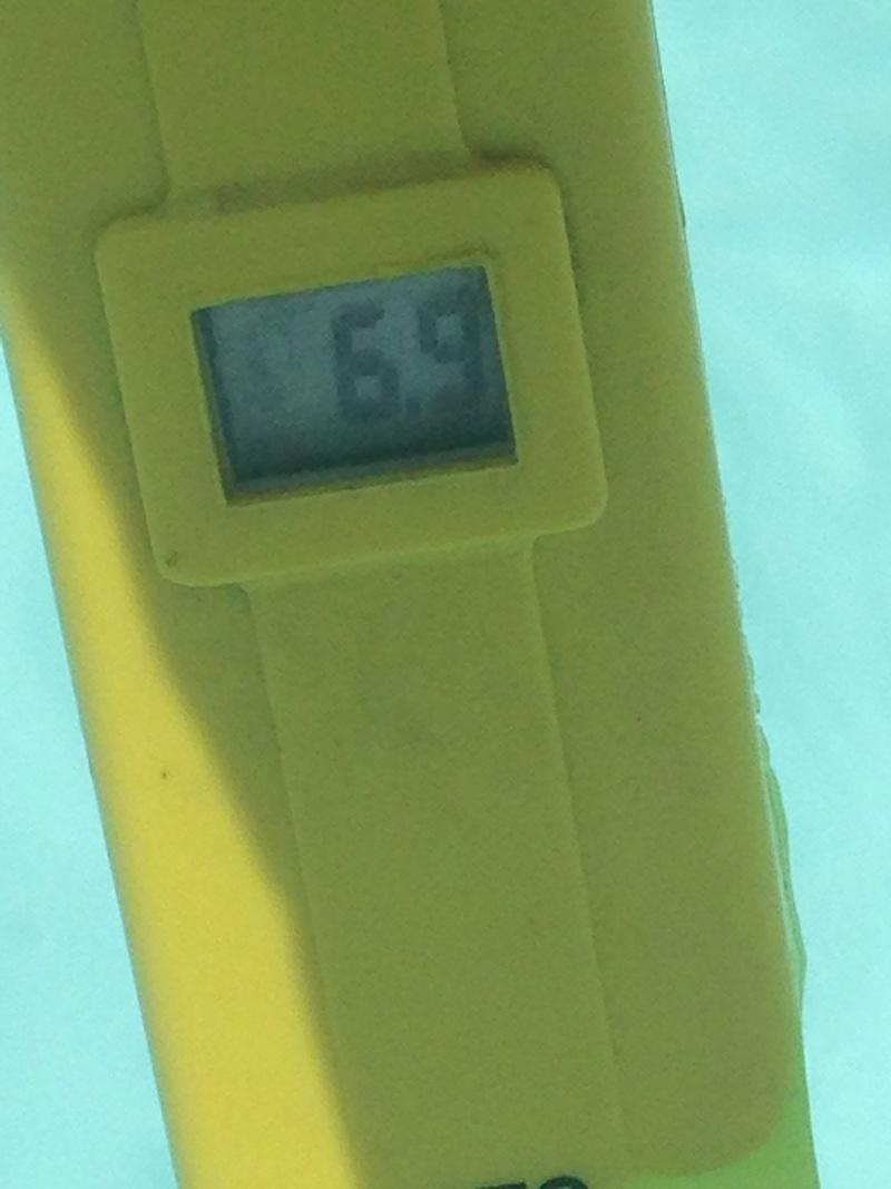 évolution couleur eau piscine Img_4511