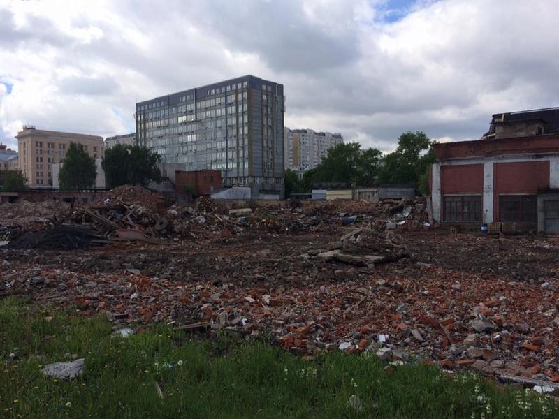 """Снос старых строений на территории бывшего """"Водоприбора"""" начнется с дальних площадок - Страница 6 18767710"""